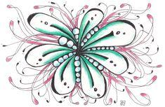 kaart 65 by JeAnToin Zentangle, Cards, Zentangle Patterns, Maps, Zentangles, Playing Cards