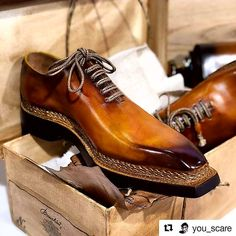 Mens handmade leather shoes for sale Mens Boots Fashion, Fashion Shoes, Formal Shoes, Casual Shoes, Berluti Shoes, Spectator Shoes, Gentleman Shoes, Handmade Leather Shoes, Dream Shoes