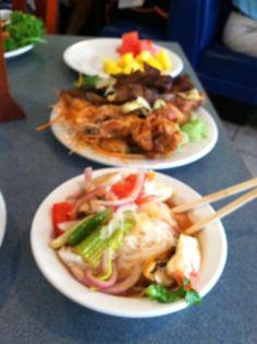 Enjoying Great Food At Bangkok Pavillion in Overland Park, Kansas!!!!!