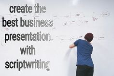 Create best business presentations with scriptwriting Three Act Structure, Script Writing, Simple Words, Business Presentation, Happy Endings, Entrepreneurship, Good News, Did You Know, Storytelling