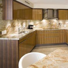 Brazilian Dream Granite - contemporary - kitchen countertops - Granite Countertop