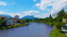 2017, week 19. Drau River in Villach (Austria).  Picture taken: 2014, 06