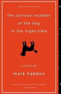 The Curious Incident of the Dog in the Night-Time by Mark Haddon. A crime story told from the point-of-view of an autistic boy. His perceptions are as, or more, fascinating than solving the crime! My favorite Mark Haddon book. This Is A Book, I Love Books, Great Books, The Book, Books To Read, My Books, Reading Lists, Book Lists, Reading Room