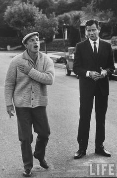 Gene Kelly and Walter Matthau
