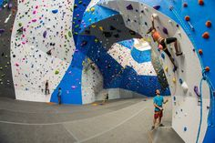 A massive rock climbing gym has opened in Crystal City.  Earth Treks, at 1235 S. Clark Street, opened its doors on Saturday. The 45,000 square foot facility boasts 35,000 square feet of climbing walls, with more than 400 climbing and bouldering routes, plus weights and cardio eqiuipment, dedic