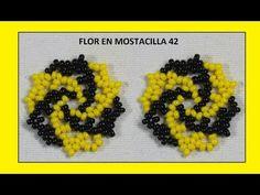 Flor huracán en mostacilla//trabajo - YouTube