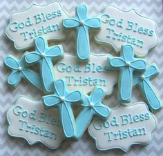 44 ideas baby boy baptism cupcakes for 2019 Christening Cookies, Baptism Cupcakes, Baby Boy Christening, Baptism Favors, Baptism Party, Baptism Ideas, Baby Dedication, Communion Cakes, First Holy Communion