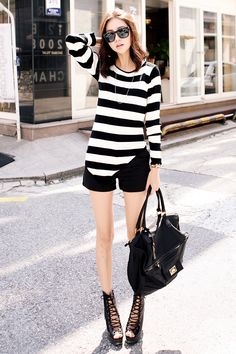 Simple and cute fashion