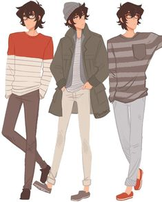 Keith in his fashionable clothes from Voltron Legendary Defender Voltron Klance, Form Voltron, Voltron Paladins, Kleidung Design, Accel World, Keith Kogane, Poses References, Drawing Clothes, Character Design Inspiration