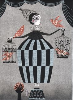 Illustrations by Judith Clay | The Bird Act