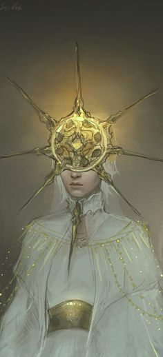 Dark Sun Gwyndolin by instantdiamond