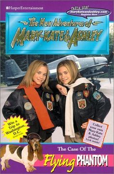 Mary-Kate and Ashley Collection * Fiction ~ The New Adventures of Mary-Kate & Ashley = The Case of the Flying Phantom '#18 - 2000
