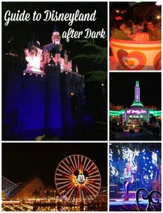 Entertainment Guide to Disneyland After Dark | Get Away Today Vacations - Official Site