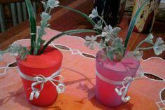 Sestrine kreativne ideje-čaše,cveće,dekoracija za sto