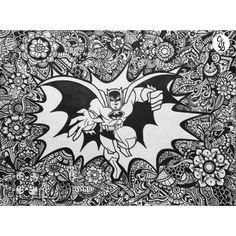 Batman Design by byjamierose on Etsy