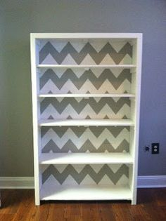 O is for Organize.: DIY Chevron Pattern Tutorial