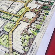 복잡다...아기자기?야 Bs #Environmental #Design #Group #LandscapeArchitecture & #Associates #sketch #drawing #plan #note #conceptplan