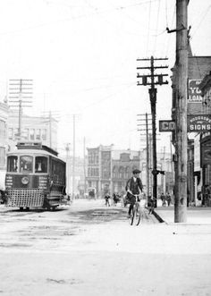 West Hastings looking east from Homer, Vintage Pictures, Vintage Images, Vancouver, Past Tense, Local History, Past Life, Historical Pictures, British Columbia, West Coast