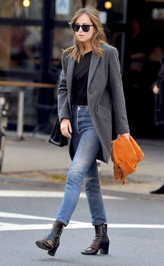 Dakota Johnson on the streets of NYC - 12 October 2016