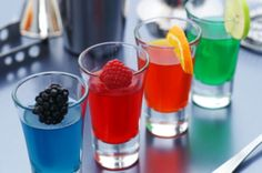 Jello Shots of many different kinds and flavors. For Party Lovers and Planners... http://www.lulu.com/spotlight/audwinshort