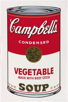 "Andy Warhol ""Campbell's Soup"" 1962"