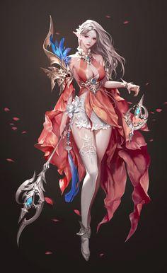 15 Image Fantasyand Dreams World Fantasy Girl, Chica Fantasy, Fantasy Art Women, Beautiful Fantasy Art, Fantasy Warrior, Dark Fantasy Art, Fantasy Artwork, Anime Art Fantasy, Female Character Design