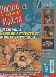Pintura sobre madera n. 9 - flores silvestres - sonia silva - Picasa Web Albums