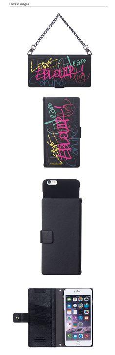 :: EBLOUIR ::Lettering folio #eblouir,#iphonecase, #phonecase, #iphone, #iphone6, #iphone6s, #plus  #style, #accessories, #best, #protective, #design, #mobile, #life