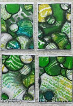 Series: greenish cirkles