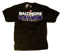 Baltimore Ravens T-Shirt Clothing Apparel Team Logo NFL Officially Licensed by The National Football League by Officially Licensed by The NFL. $22.99. Baltimore Ravens Authentic Team Apparel T-Shirt Officially Licensed by The NFL. Includes Official Team Logo in High Quality Screen Print