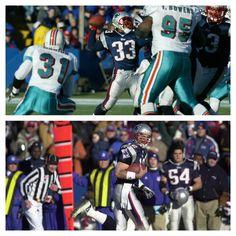 Kevin Faulk to Brady-Tom Brady's only career reception