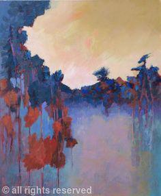 """""""Twilight"""" by Sheila Marlborough - Acrylic"""