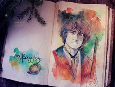 Mr. Baggins by Kinko-White.deviantart.com on @DeviantArt