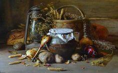 still life painting yury nikolaev