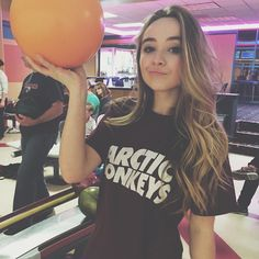 Sabrina Carpenter @sabrinacarpenter Won my first bowl...Instagram photo | Websta (Webstagram)