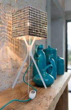 """Lampy - Le Labo Design - """"Lampe carrée Fractale"""""""