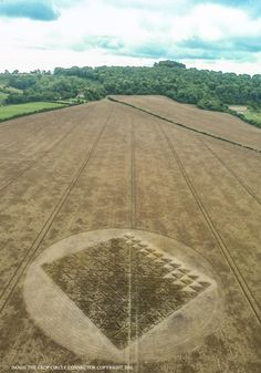 Crop Circle at Chilcomb Ranges, Nr Winchester, Hampshire. Reported 3rd…