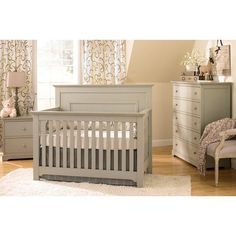 Munire Furniture Chesapeake Full Panel 4-in-1 Convertible Crib Collection