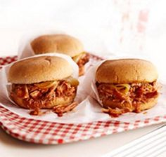 Weight Watchers Crockpot BBQ Pork Sandwiches