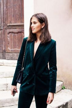 Style Inspiration: Velvet for Autumn
