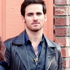 Colin as Captain Hook, Master of Hawt.