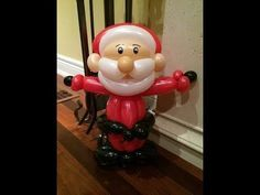 ▶ How to make a Santa Claus Balloon - YouTube