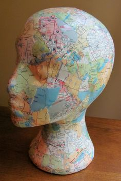 map foam head
