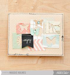 Enjoy Card by maggie holmes  Studio Calico June Kits