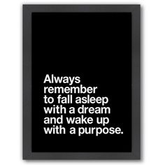 """Americanflat """"Always Remember"""" Framed Wall Art ($69) ❤ liked on Polyvore featuring home, home decor, wall art, quotes, text, phrase, saying, motivational wall art, inspirational framed wall art and framed wall art"""