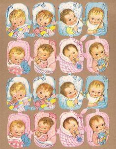 Kruger 171/269 Jongens & Meisjes baby's poezieplaatjes