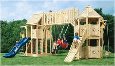 some awesome ideas for a play structure here