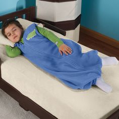 HALO Big Kid's Toddler SleepSack - for staying cuddly when the temps drop and great for camping or traveling.