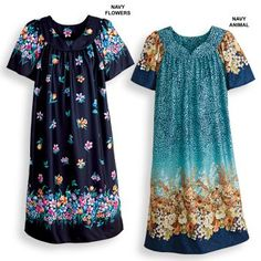 Muumuu Dresses Are Lovely Comfort Clothing for Boomers and Seniors