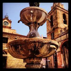 Piazza Margherita the center of the world in #castelbuono #sicily #makeitcount
